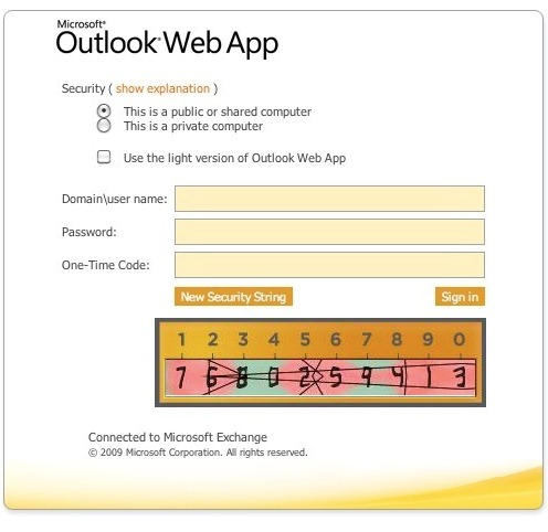Outlook Web AccessとTURingのインテグレーション例